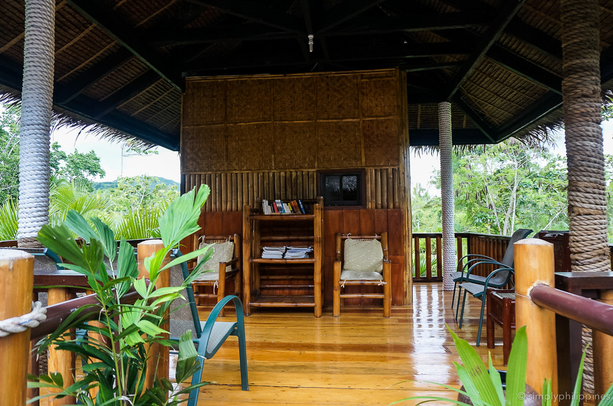loboc river resort reading nook