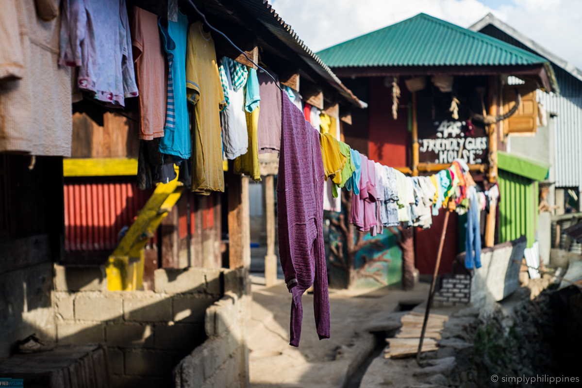 Laundry lines in Buscalan