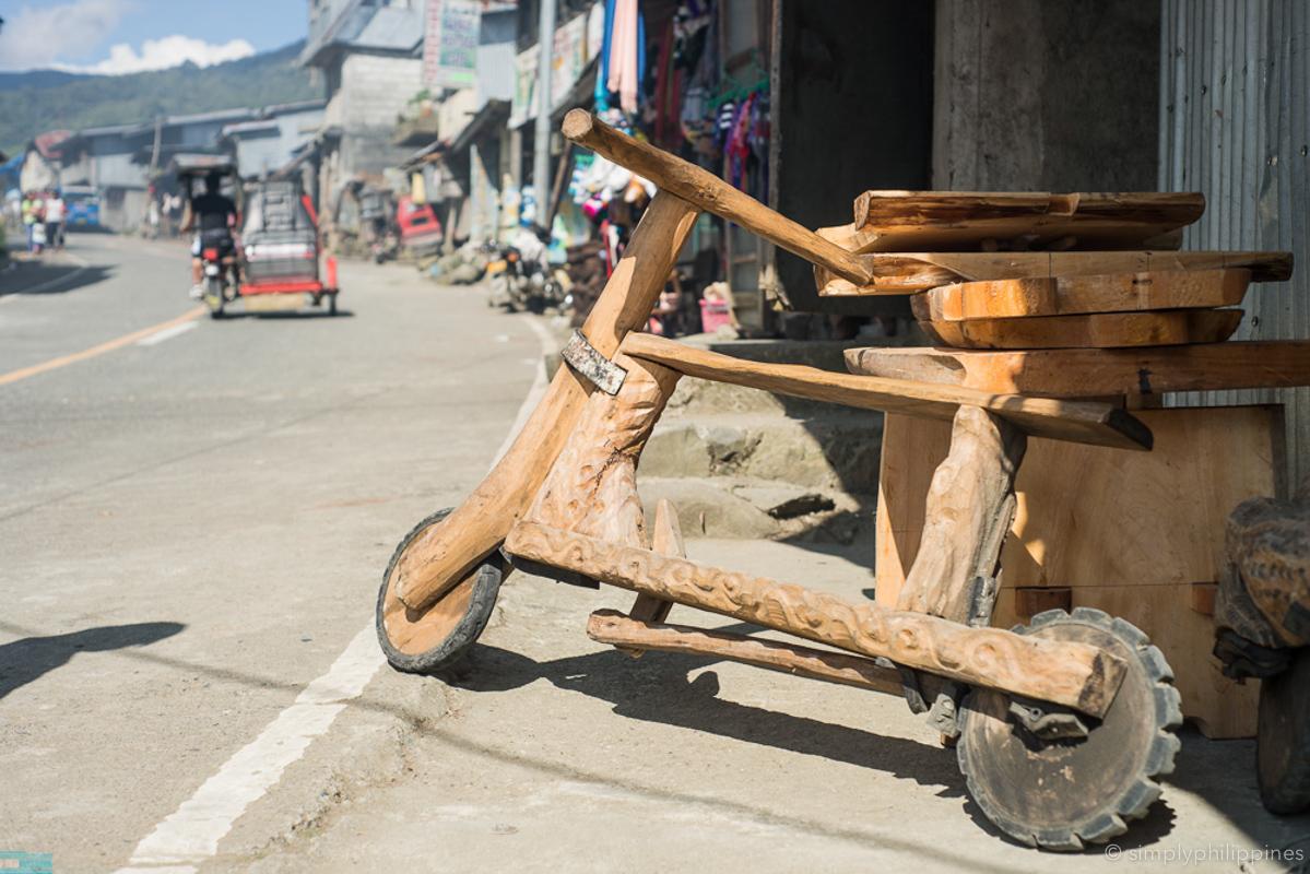 Mountain bike in Bontoc
